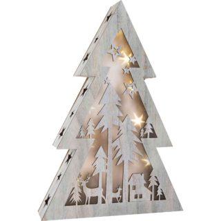Small Foot Dřevěný vánoční stromeček se světlem velký
