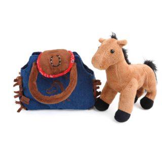 Small Foot Dětská kabelka koník v kabelce Western