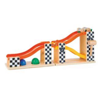 Small Foot Dřevěná zatloukací kuličková dráha Rally