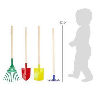 Small Foot Set barevného zahradního nářadí