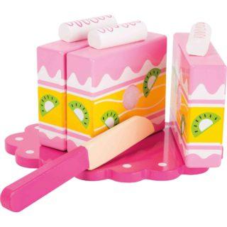 Small Foot Růžový dortík