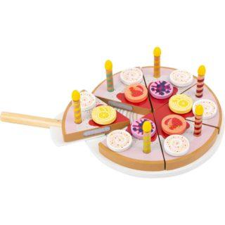 Small Foot Narozeninový dort se svíčkami