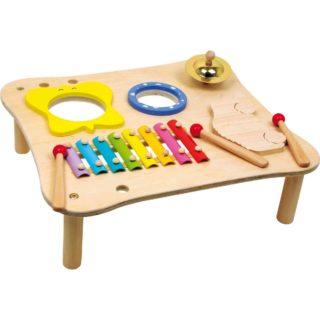 Small Foot Dřevěný hudební stolek Deluxe