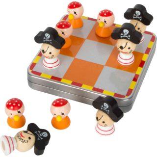 Small Foot Společenská hra magnetické piškvorky piráti