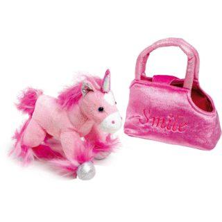 Small Foot Dětská růžová kabelka jednorožec v kabelce Fina