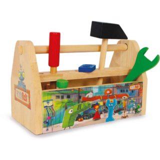 Small Foot Dřevěný pracovní box s nářadím