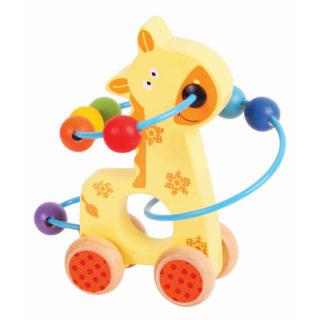 Bigjigs Baby labyrint na kolečkách žirafa