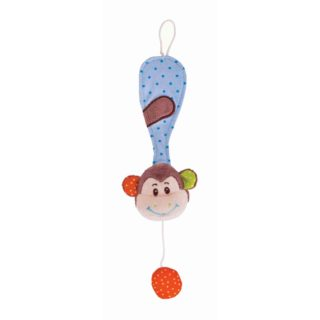 Bigjigs Baby Klips na dudlík opička Cheeky