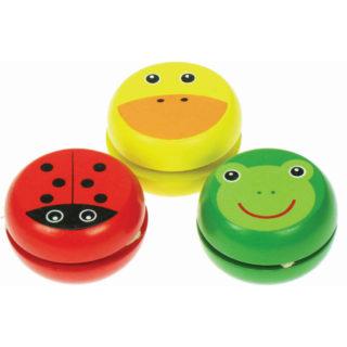 Bigjigs Toys - Dřevěné Jojo 1ks   beruška