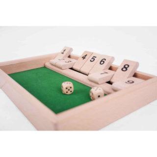 Bigjigs Toys Dřevěná stolní hra v kostky
