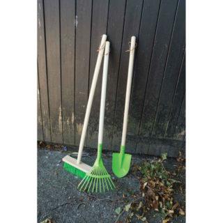 Bigjigs Toys Zahradní lopata zelená