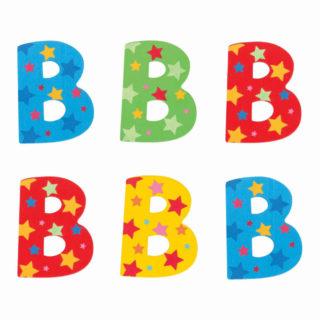 Bigjigs Toys hvězdičkové písmenko B