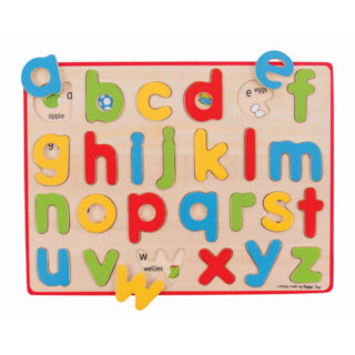 Bigjigs Toys Anglická malá abeceda s obrázky