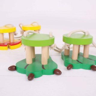 Bigjigs Toys Krokodýlí nohy