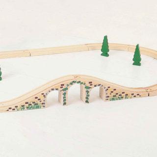 Bigjigs Rail Dřevěná kolej most