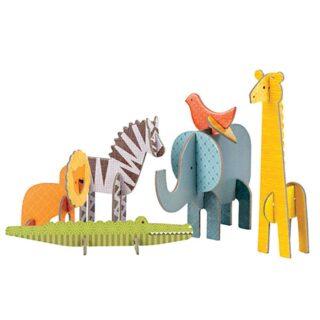 Petitcollage 3D puzzle Safari