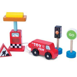Le Toy Van Autíčko s benzínovou pumpou
