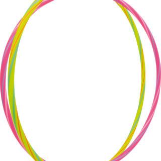 Small Foot Zábavné hula hula kruhy neonové 2 ks
